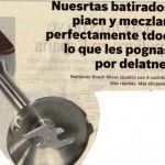 Publicidad de las batidoras Bosch