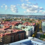 Vista desde el Heaven 23, Gothenburg
