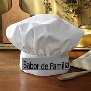 chef hat sabor de familia