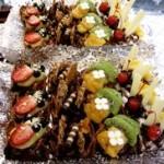 Dulcitos con frutas